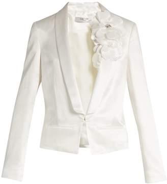 LANVIN Shawl-lapel tuxedo jacket $2,305 thestylecure.com