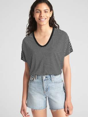 Gap Short Dolman Sleeve T-shirt in Pure Rayon