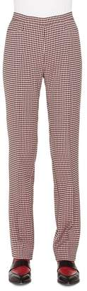 Akris Punto Francoise Houndstooth Jersey Pants