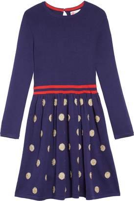 Boden Mini Spot Sweater Dress