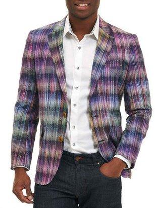 Robert Graham Sunderbans Plaid Two-Button Sport Coat, Multicolor $698 thestylecure.com