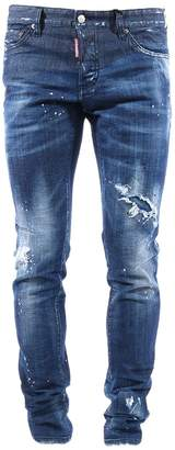 DSQUARED2 Vertical Slash Denim
