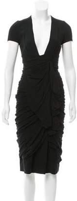Burberry Silk Cocktail Dress