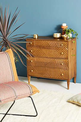 Anthropologie Paje Carved Dresser