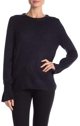 Joe Fresh Mix Stitch Flutter Sleeve Sweater