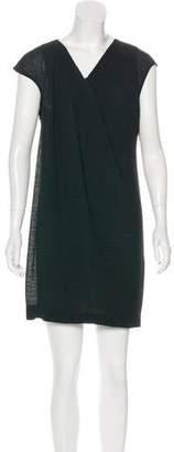 Helmut Lang Pleated Mini Dress