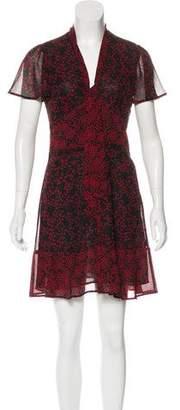 MICHAEL Michael Kors Star Print Mini Dress w/ Tags