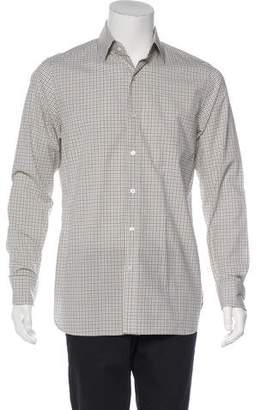 Tom Ford Woven Check Shirt