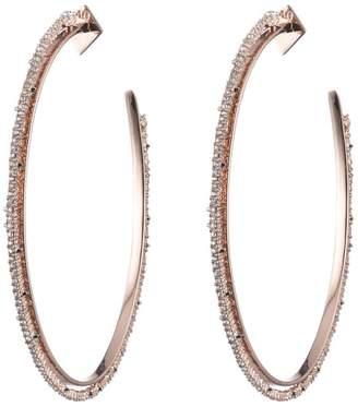 Alexis Bittar Crystal Lace Orbiting Hoop Earring