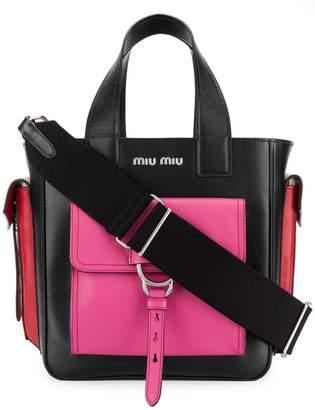 Front-pocket Leather Tote Bag - ShopStyle UK bd2e3ec827fab