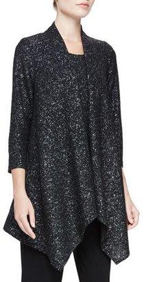 Caroline Rose Starry Night Knit Cascade Jacket $200 thestylecure.com