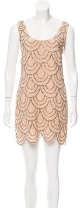 Rachel Gilbert Scala Embellished Dress w/ Tags