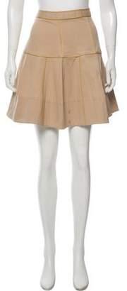 Zac Posen Flared Knee-Length Skirt