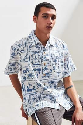 Chums Mahalo Short Sleeve Button-Down Shirt