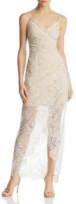 WAYF Gwen Illusion Lace Dress