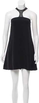 Jay Godfrey Satin Mini Dress