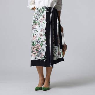 JET (ジェット) - JET ヴィンテージスカーフプリントラップスカート
