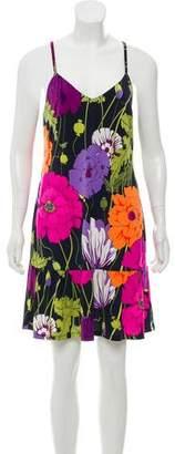 Trina Turk Sleeveless Floral Dress