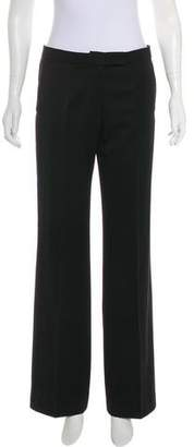 Veronique Branquinho Wool Mid-Rise Pants