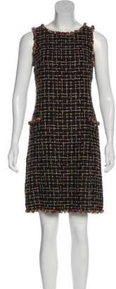 Chanel Embellished Lesage Tweed Dress