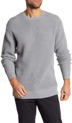 Barney Cools Warm Waffle Knit Crew Neck Sweater