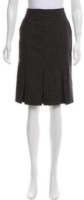 Giorgio Armani Wool Pleated Skirt