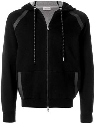 Moncler zipped track hoodie