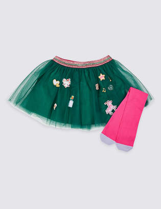 Marks and Spencer Tutu Skirt with Tights (3 Months - 7 Years)