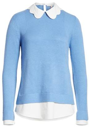 Ted Baker Bronwen Scalloped Collar Sweater