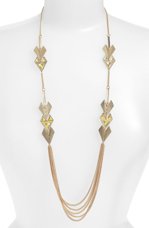 Stephan & Co Arrow Layering Necklace