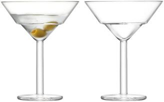 LSA International Mixologist Cocktail Martini Glass - Set of 2