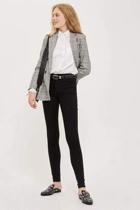 Topshop Womens Tall Black Leigh Jeans