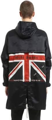 Oversize Hooded Union Jack Parka
