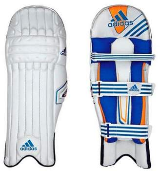 adidas Sl Pro Kids Cricket Batting Pads White/blue - Left Hand Boys