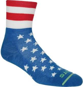 Fits Performance Trail Americana Quarter Sock - Men's