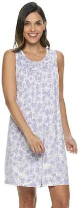 Croft & Barrow Petite Smocked Nightgown