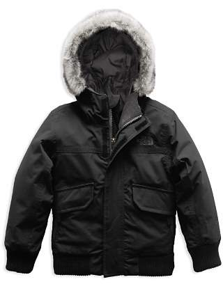 The North Face Boys' Gotham Down Jacket with Faux-Fur Trim - Little Kid