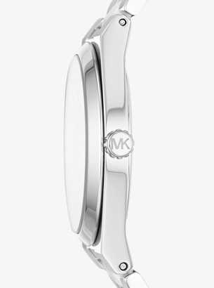 fc0e06c1d53f Michael Kors Channing Silver-Tone and Acetate Watch