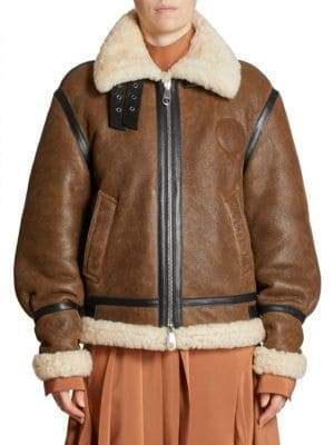 Chloé Shearling Biker Jacket