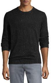 Men's Lightweight Donegal Cashmere Crewneck Sweater