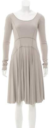 Derek Lam Long Sleeve Knee-Length Dress