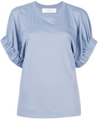 Victoria Beckham Victoria puff sleeve T-shirt