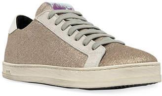 P448 John Glitter Low-Top Sneakers