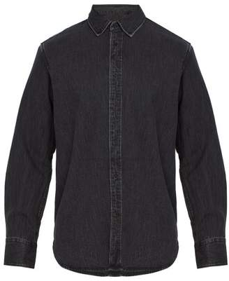 Rag & Bone Fit 3 Single Cuff Denim Shirt - Mens - Black
