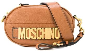 Moschino lettering belt bag