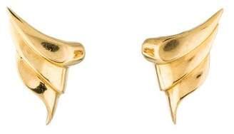 14K Wing Earrings