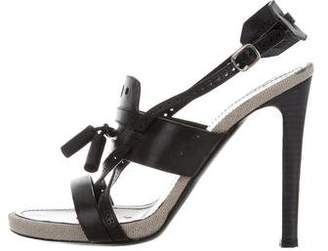 Proenza Schouler Leather Perforated Sandals
