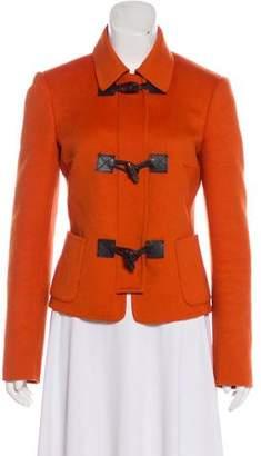 Michael Kors Angora-Blend Casual Jacket