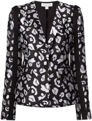 Rachel Zoe Cynthia leopard print blazer