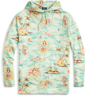 Ralph Lauren Tropical Cotton Hooded T-Shirt